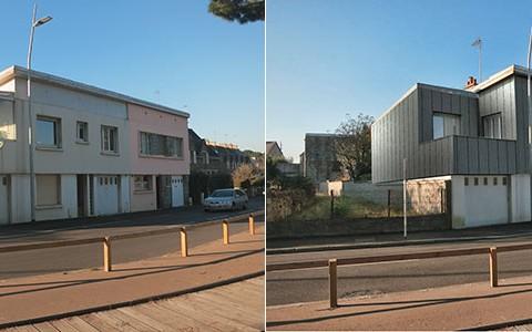 Visuel 3d pour un projet d'aménagement de façades