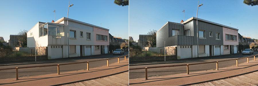 Visuel 3d aménagement d'habitation