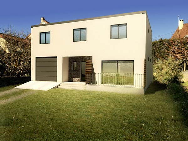 Insertion 3d archives provence permis de for Construire maison 3d