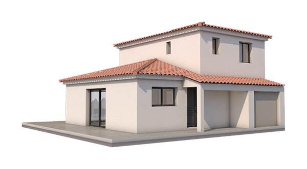 Une maison individuelle dans le sud ouest provence for Construire une maison en 3d