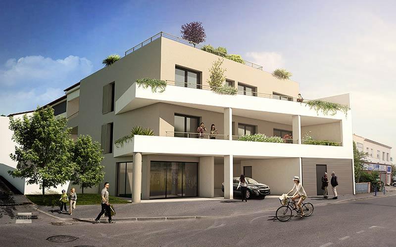 image 3d de promotion immobilière