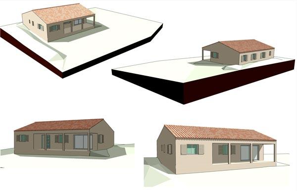 perspectives 3d maison