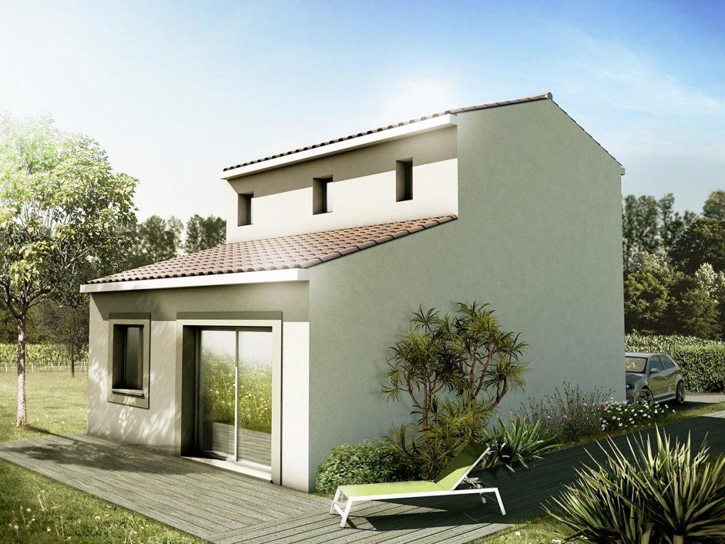visuel 3d maison T3