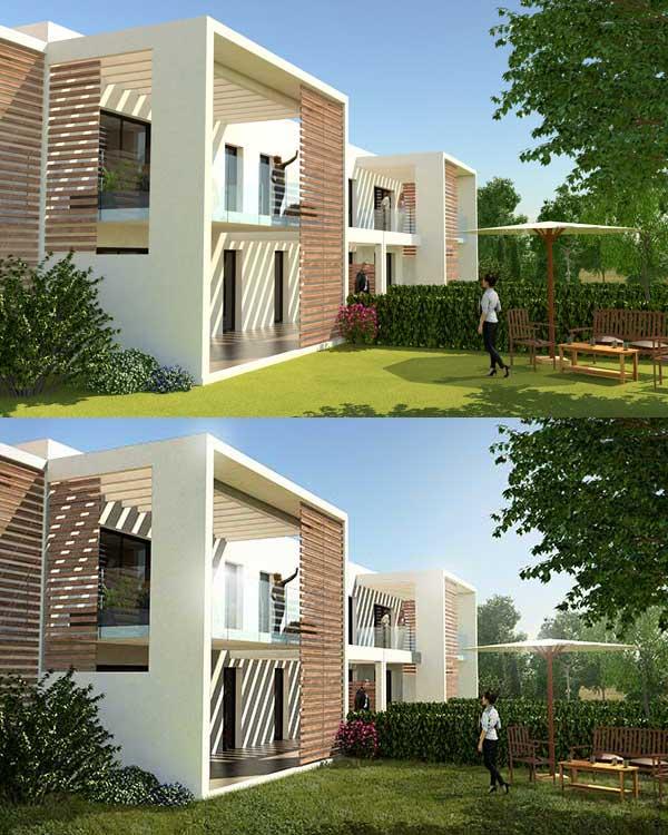 Elaboration d'un visuel 3d de promotion immobilière